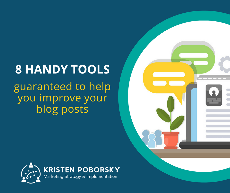 8 Tools that will improve your blog writing